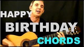 Happy Birthday Chords | Easy Beginner Guitar Song