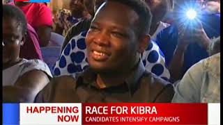 Candidates intensify campaigns in Kibra