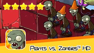 Plants vs  Zombies™ HD ROOF Level 03 Part 1 Walkthrough The zombies are coming! Recommend index five