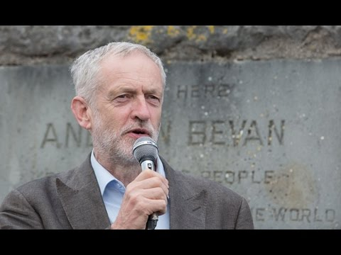 Jeremy Corbyn's Speech at The Aneurin Bevan Stones Tredegar (full Speech)