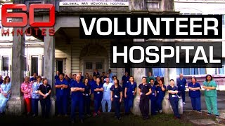 Inspirational doctors give up vacation to volunteer in Fiji hospital | 60 Minutes Australia