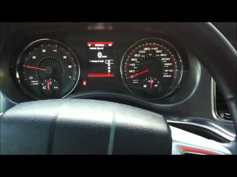 DudeDrivesCars - Dodge Charger Service Reminder Reset