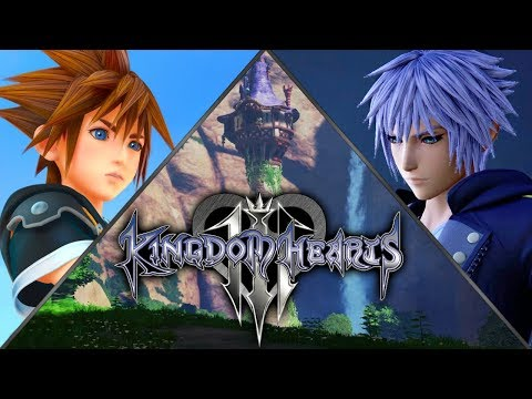(OLD!) Kingdom Hearts 3 | All Trailers (2018) ~ 1080p 60fps