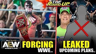 AEW Forcing WWE!, Leaked WrestleMania Plans, Top Star OUT Of Royal Rumble, & More - The Round Up