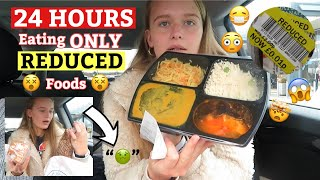 Eating ONLY REDUCED FOODS For 24HOURS!!! // Lola Cartwright