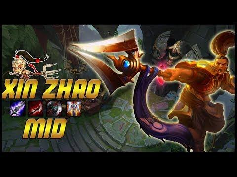 [ITA] TI PUNGO CON LA LANCIA - XIN ZHAO MID - League Of Legends