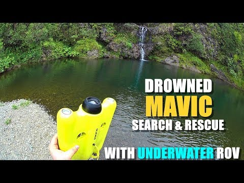 Drowned MAVIC PRO Search & Rescue with GLADIUS Underwater ROV