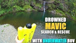 Drowned MAVIC PRO Search & Rescue with GLADIUS Underwater ROV