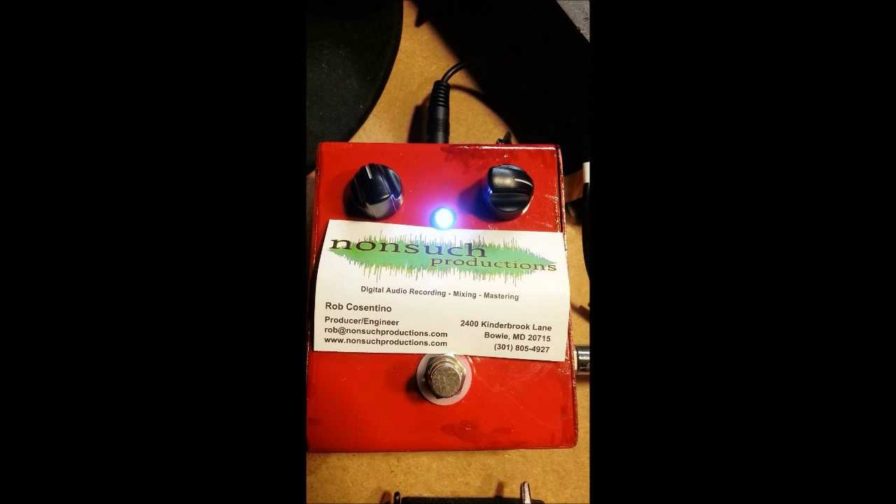 distortion pedal schematic [ 1280 x 720 Pixel ]