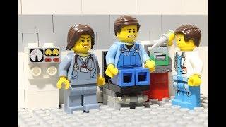 LEGO Hospital  ER  (Funny)