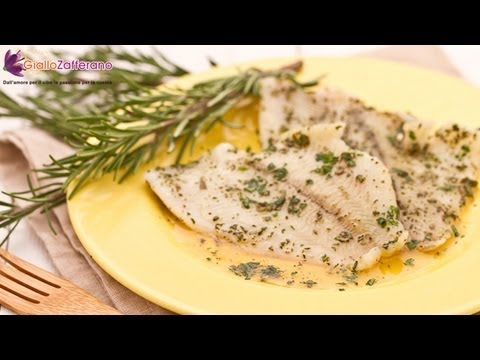 Plaice Fillets With Honey And Aromatic Herbs - Quick Recipe