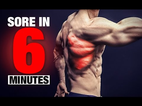 Back Workout (SORE IN 6 MINUTES!)