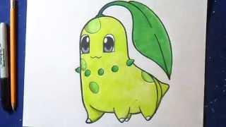 Dessin/Coloriage Germignon (Pokémon)