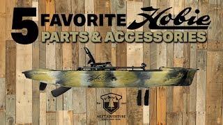 Top 5 Hobie Fishing Kayak Accessories