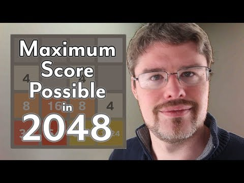 2048: The Maximum Score Possible
