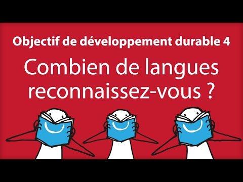 Combien de langues reconnaissez-vous ?
