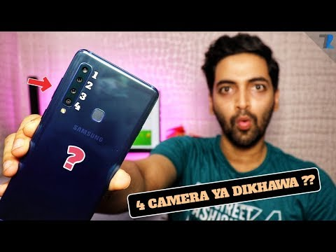 Samsung Galaxy A9 (2018) - Camera Review + Quick Unboxing!