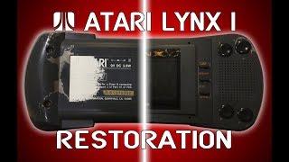 Atari Lynx I Restoŗation / Refurb