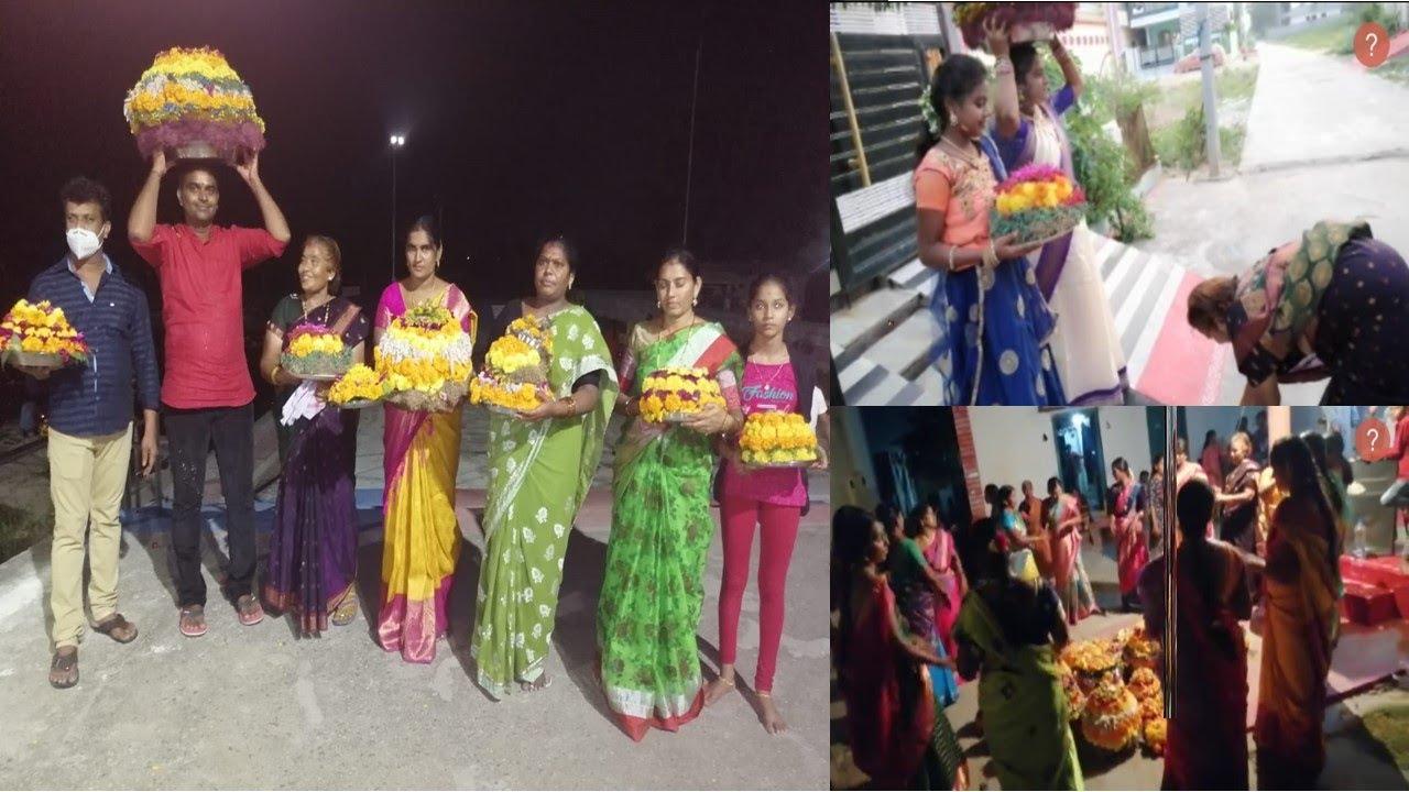 Batukamma pandaka celebrations