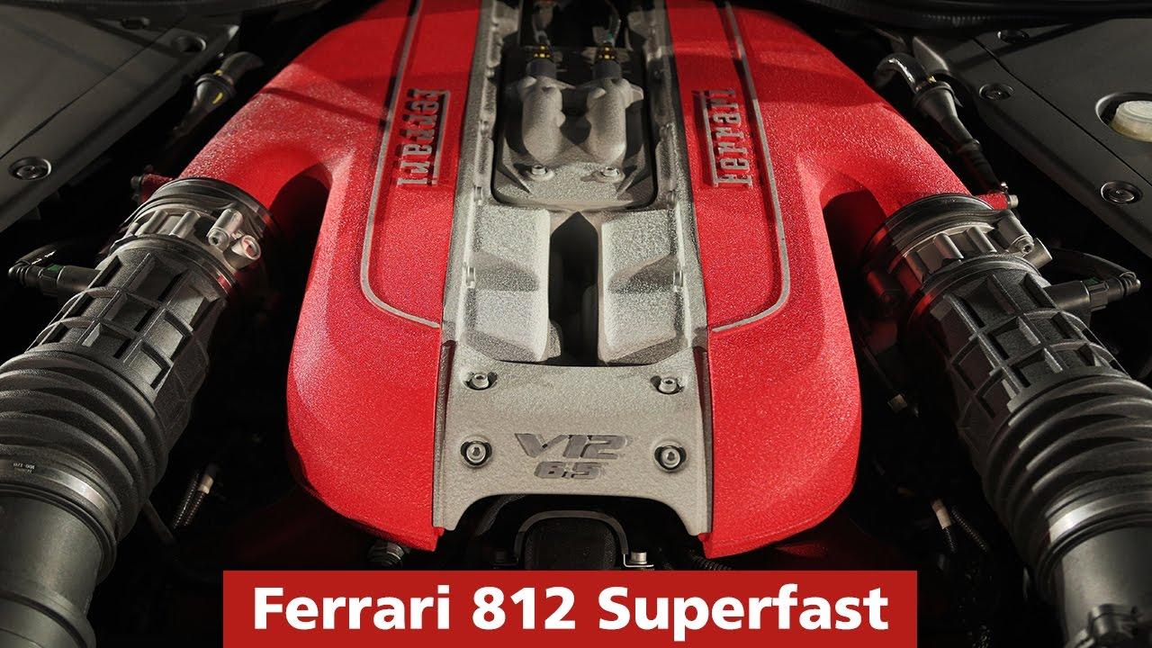 Ferrari 812 Superfast Engine And Exhaust Sound Youtube