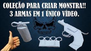 SUPER ARMA DE PAPEL MINI38 / GRANADA /  SOCO INGLÊS - CRIANDO ARMAS TOP - PlayJogos&Projetos