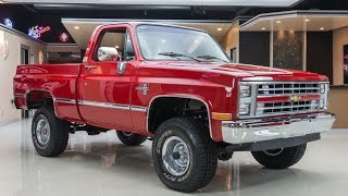 1987 Chevrolet SIlverado 4x4 For Sale