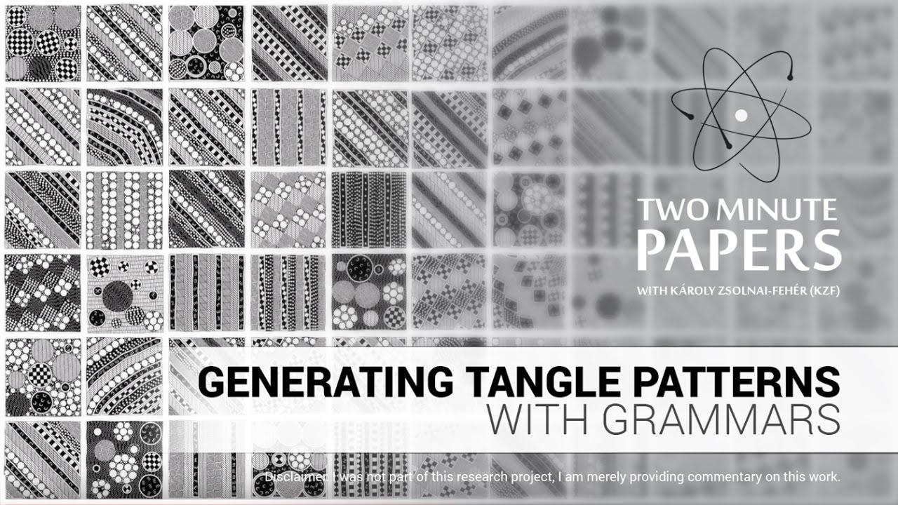 Tangle Patterns Cool Inspiration