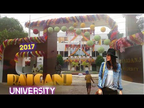 RAIGANJ UNIVERSITY  NEW LOok 17-2018 | Uttar Dinajpur | Full HD