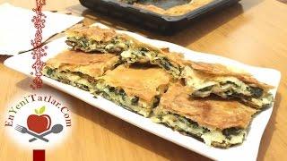 Ispanaklı Börek | Ispanaklı Börek Tarifi | Ispanaklı Tepsi Böreği