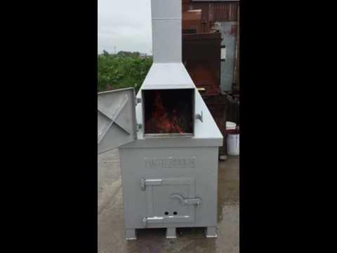 Masterburn Freeburner incinerator from OBE Waste and Agri Engineering Ltd