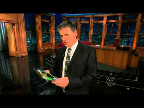 Late Late Show with Craig Ferguson 11/12/2009 Trace Adkins, Nick Griffin