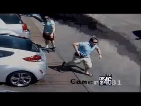 Good Guy With Gun Shoots Carjacking Suspect, Saves Woman On Hood Of Car Speeding Away |VIDEO