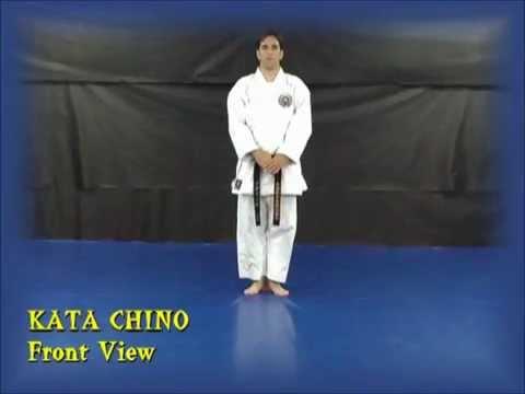 קראטה צ'ינו קאטה קוניבה קאי    Chino KATA Shito Ryu Karate