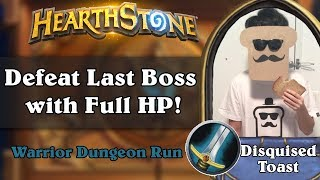 Disguised Toast Dungeon Run - Defeat Last Boss with Full HP!