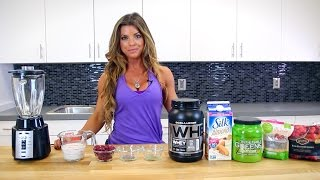 Jen Jewell's Bikini Booty Protein Smoothie Recipe