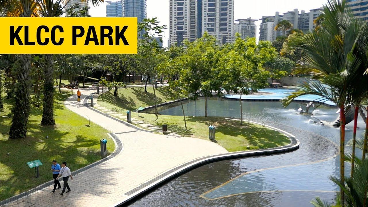 A Walk Around Klcc Park In Kuala Lumpur Youtube