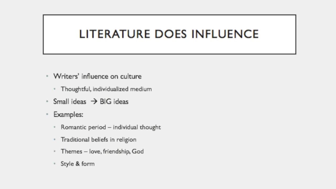 examples of british literature