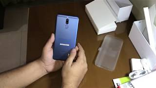 Huawei Mate 10 lite, Nova 2i, Honor 9i, G10 - Aurora Blue Color - Unboxing - with many gifts