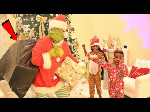 THE GRINCH Stole OUR CHRISTMAS