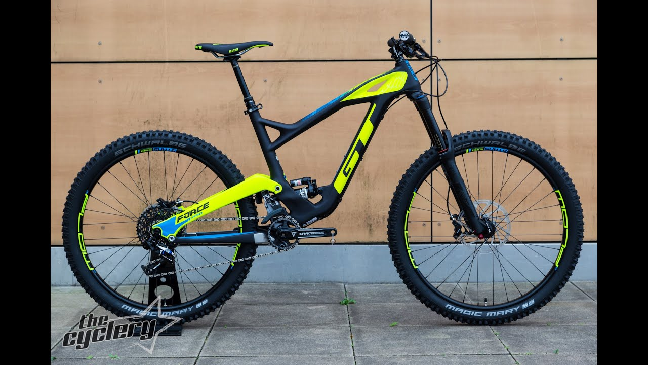 bdaca12284c GT Force X Carbon Pro All Mountain Bike 2017 | PREVIEW - YouTube