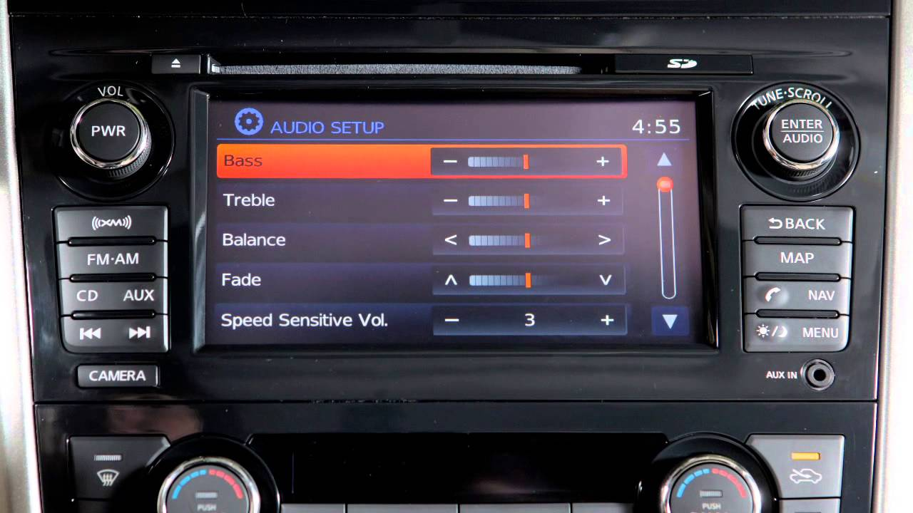 2008 nissan altima coupe audio system