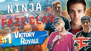 FaZe Clan Play Fortnite with Ninja