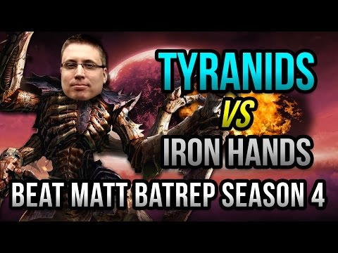 Tyranids vs Iron Hands Warhammer 40k Battle Report - Beat Matt Batrep Ep 3