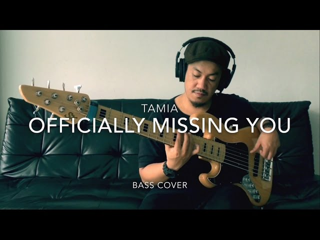 Tamia - Officially Missing You (bass arrangement by Angga) Chords ...