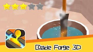 Blade Forge 3D Walkthrough Create the ultimate sword! Recommend index three stars