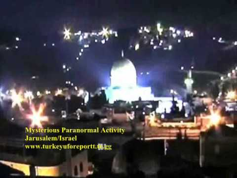 MYSTERIOUS PARANORMAL ACTIVITY-JERUSALEM-ISRAEL-GHOST?