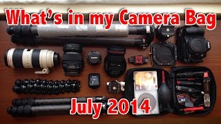 what s in my camera bag july 2014