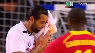 كرة اليد l تونس و الكاميرون l بطولة افريقيا للرجال  Handball l Tunisia vs Cameroon