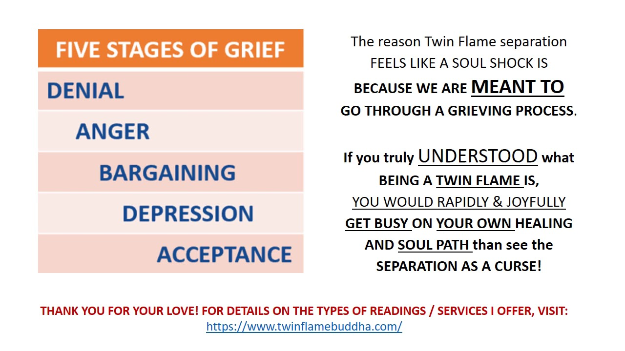 Phases twin flame The Stages