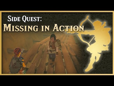 Zelda Breath of the Wild • Missing in Action • Wasteland Side Quest